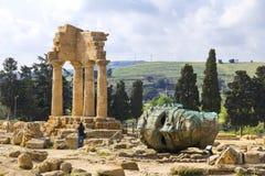 Valle dei Templi, Agrigento, Sicily Stock Photography