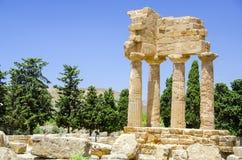 Valle dei Templi, Agrigento, Sicily Royalty Free Stock Images