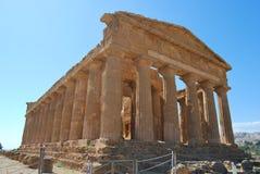 Valle dei Templi - Sicilien Royaltyfria Bilder
