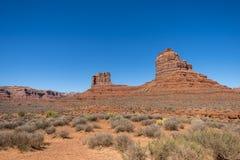 Valle dei dei, Utah fotografia stock libera da diritti