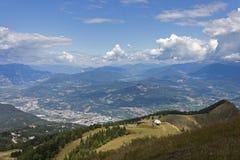 Valle del Adigio, Trento imagen de archivo
