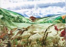 Valle del agua Foto de archivo libre de regalías