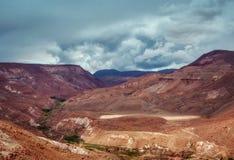 Valle del Arcoiris Cile fotografia stock