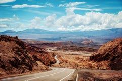 Valle del Arcoiris o Chile fotos de stock