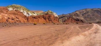 Valle del Arcoiris, San Pedro de Atacama, Chili stock fotografie