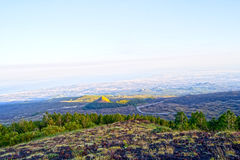 Valle del Bove - Mount Etna, Sicily Royalty Free Stock Photos