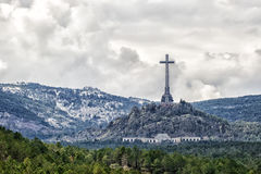 Valle del caido (Valle de los Caidos), Madrid, España Foto de archivo