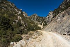 Valle del calcare Fotografie Stock