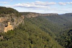Valle del canguro Fotografia Stock