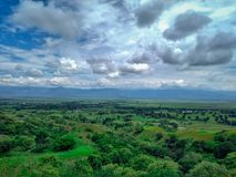 Valle del Cauca landscape. Landscape from Colombia Stock Photo