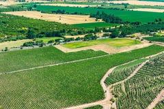 Valle del Colchagua fotografie stock