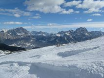 Valle del Cortina Fotografie Stock Libere da Diritti