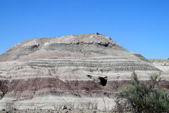 Valle del desierto de Ischigualasto Foto de archivo