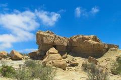 Valle del desierto de Ischigualasto Imagen de archivo libre de regalías