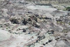 Valle del desierto de Ischigualasto Foto de archivo libre de regalías
