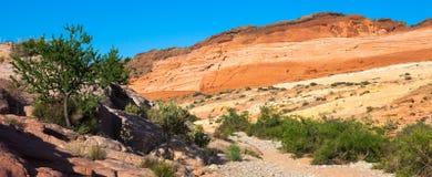 Valle del desierto del fuego Imagen de archivo