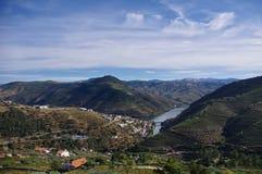 Valle del Duero nel Portogallo Fotografia Stock Libera da Diritti