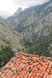 Valle del Duje, Cabrales, Spanien Fotografering för Bildbyråer