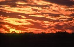 Valle del engaño en la puesta del sol imagen de archivo