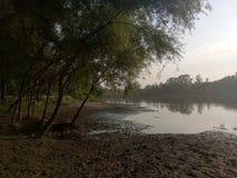Valle del fiume di Jehlum - Kashmir Fotografia Stock Libera da Diritti