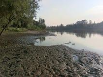 Valle del fiume di Jehlum - Kashmir Immagine Stock Libera da Diritti