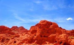 Valle del fuego Imagen de archivo libre de regalías