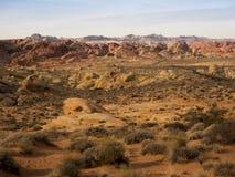 Valle del fuego Foto de archivo libre de regalías