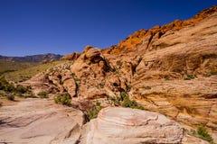 Valle del fuego - grandes paisajes Imágenes de archivo libres de regalías