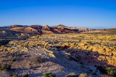 Valle del fuego - grandes paisajes Foto de archivo