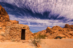 Valle del fuego la cabina Fotografía de archivo libre de regalías