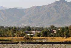 Valle del golpe violento, Paquistán septentrional Imagen de archivo libre de regalías