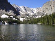 Valle del lago Foto de archivo libre de regalías