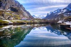 Valle del lago. Fotografia Stock Libera da Diritti