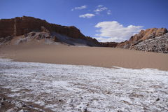 Valle del luna - dal av månen, i atacama, chile royaltyfria foton