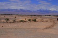 Valle del Luna - dolina księżyc w atacama, chile obrazy royalty free