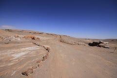 Valle del Luna - dolina księżyc w atacama, chile fotografia royalty free
