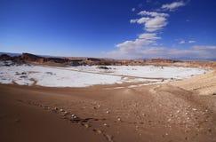 Valle del Luna - dolina księżyc w atacama, chile Obraz Royalty Free