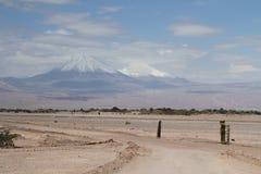 Valle-del Luna - Tal des Mondes, im atacama, Paprika lizenzfreie stockfotos