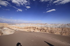 Valle del luna - valley of the moon, in atacama, chile Royalty Free Stock Photo