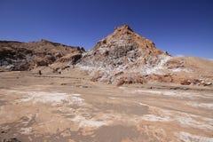 Valle del luna - valley of the moon, in atacama, chile Royalty Free Stock Photos