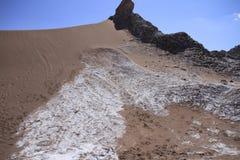 Valle del luna - valley of the moon, in atacama, chile Stock Photo