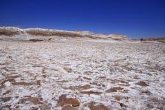 Valle del luna - valley of the moon, in atacama, chile Stock Photos
