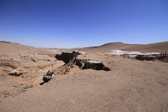 Valle del luna - valley of the moon, in atacama, chile Royalty Free Stock Images
