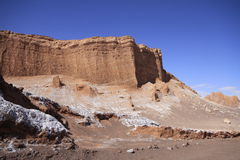 Valle del luna - valley of the moon, in atacama, chile Stock Photo