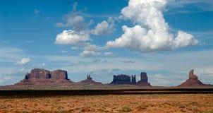 Valle del monumento fotografia stock
