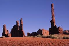 Valle del monumento   Fotografie Stock Libere da Diritti