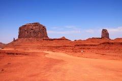 Valle del monumento Fotos de archivo