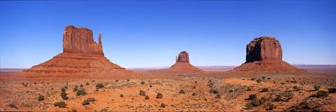 Valle del monumento fotografie stock