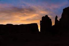 Valle del monumento ad alba immagini stock libere da diritti
