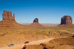 Valle del monumento, Arizona Imagen de archivo libre de regalías